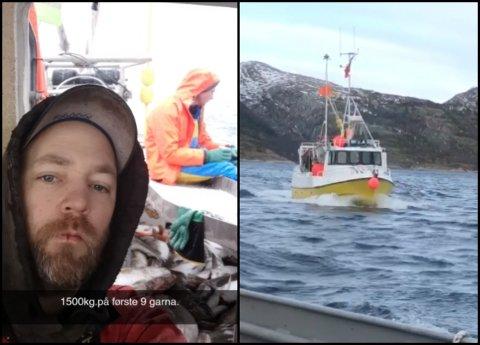 Even Heggøy og broren Steffen Heggøy tok kvar sin sjark til Lofoten for å fiske etter torsk.