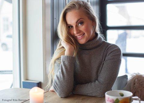 Vil til topp: Sara Hassing leder kampen om å bli hele Norges Miss Universe