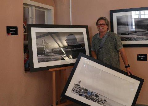 TENNING: Fotograf Roger Svalsrød fikk idéen til sin siste utstilling da han leste at Pikesten Fyr skulle fjernes.