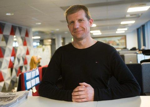 Jon Jacobsen tiltrer som konstituert redaktør i Fredriksstad Blad når René Svendsen takker av i august.
