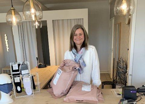 Christina's-innehaver Siri Christina Utengen kastet seg rundt da den siste koronanedstengningen kom – og fikk stablet en nettbutikk på bena.