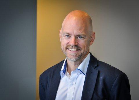 Eneste ansatt på nytt Narvik-kontor: Mikael af Ekenstam. – Jobben jeg vil gjøre fremover tar først og fremst utgangspunkt i behovene til innbyggerne, sier han til Fremover.