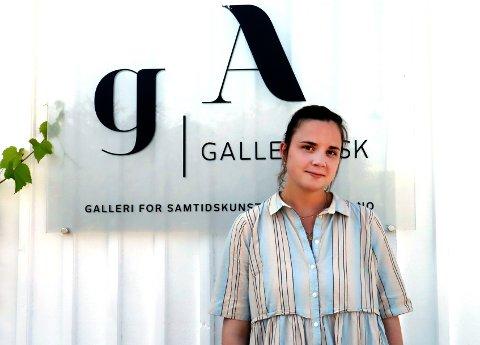 ASK: Embla Øverbye viser sine arbeider i Galleri Ask de neste ukene.