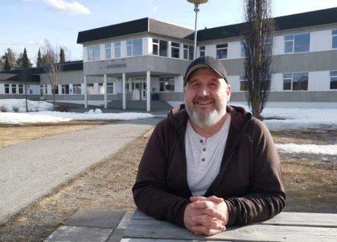 SKOLEN: opptar Rune Grenberg, og det er skole og leksebevisst skolehverdag han vil gå på talerstolen i landsmøtet for.