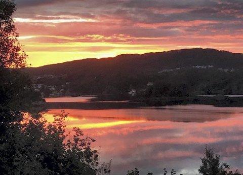 En tidlig: morgen i Haugesund: Sendt av Per Skauby.