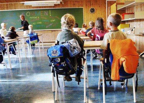 Mandag 17. august begynner 2014-kullet på skolen for første gang.