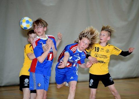 Guttehåndballen er populært i LFH 09 som har 14 guttelag denne sesongen.
