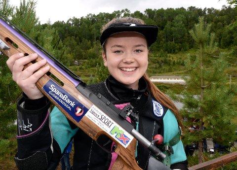 FØRSTEPLASS: Mette Strandlien gikk til helt topps tirsdagens konkurranse.
