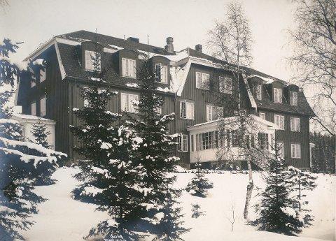 LOKAL PIKESKOLE: Hammerseng pensjonatskole i Lillehammer.