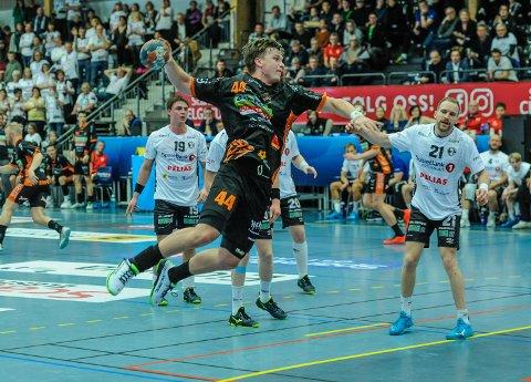 11 MÅL: Thomas Solstad ble HTH sin toppscorer med elleve mål mot Bodø.