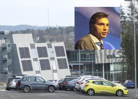 Kjell Reidar Mydske og Smart Innovation Norway skal på ingen måte flagge ut av Halden.