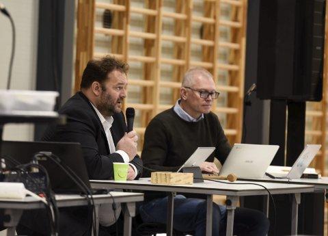 – Eg vil ikkje seia at dette er ei øydelegging av Odda sentrum, argumenterte ordførar Roald Aga Haug i debatten om eit næringsbygg på Almerket.