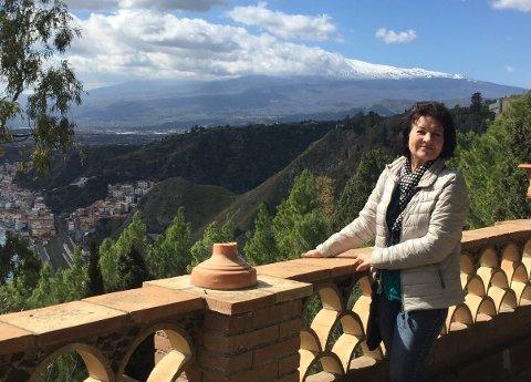 KOMMER TIL Å REISE IGJEN: Selv om hele Italia er i unntakstilstand, kommer Inger Marie Dybvik til å reise tilbake til Sicilia når situasjonen stabiliserer seg.