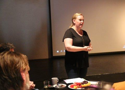 SKUFFET: Daglig leder i Unge Spor, Iren Førland, sier hun er svært skuffet over avslagene de har fått på søknadene om etableringsstøtte til Kulturbanken. (ARKIVFOTO)