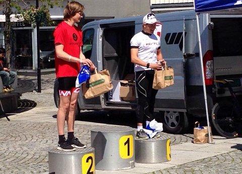 Under triatlonstevnet Bryne Tri i 2015, løp Jonas Aarrestad forbi Kristian Blummenfelt og kapret andreplassen foran Norges ferskeste OL-vinner.