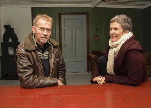 EIERNE: Gunnar og Hanne Naas eier Lundereid gård.