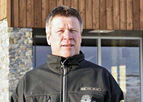 FULL BRAKKE: Daglig leder Einar Ro på Vasstulan 1100 er fornøyd med besøket i vinterferien, men ønsker seg flere overnattingsplasser på sikt.