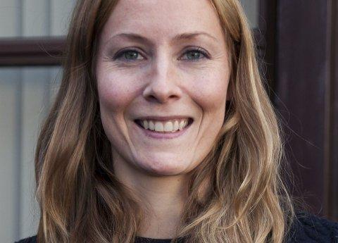 Turglad: Anja Meland Rød, miljøansvarlig i Vestvågøy kommune gleder seg til  å se hvilke friluftssteder folk mener er mest attraktive.