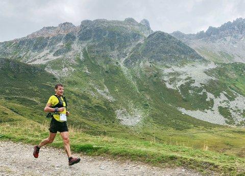 Fjerdeplass: Hallvar Schjølberg kom på en knallsterk fjerdeplass blant 1785 deltakere på ultraløpet TDS.
