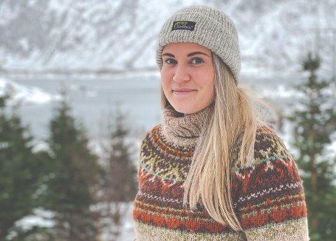 Karoline Cecilie Magnussen er glad i å være ute på tur.