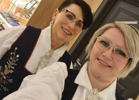 Stine Karita Solheim og moren Else Britt Solheim er kolleger på Gullfunn.