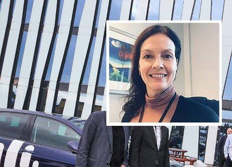 NYE KRAV: Banksjef Elisabeth Falch Skjønhaug i Nordea Østfold skjønner at mange kunder kan synes det er rart med de med de nye ID-kravene, men viser til behovet for økt sikkerhet.