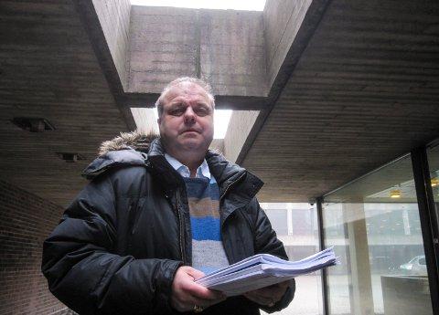 UTE: Halvard Sand (KrF) trekker seg fra valglisten til Partiet De Kristne i Moss.