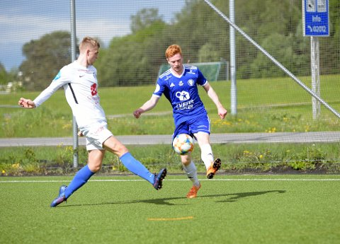 SCORET: Kristian Bjørseth satte inn 1-0 for Oppsal, men det ble til slutt 1-1.