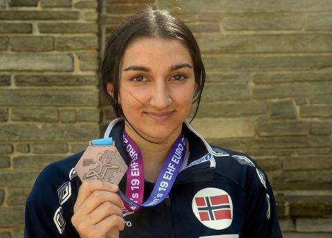 BRONSEVINNER: Lorin Sendi fikk med seg bronse fra U19-EM i Ungarn.