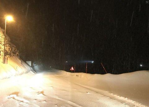 FRA OMRÅDET: Politiet i Finnmark slapp dette bildet på Twitter fredag kveld.