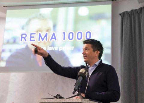 Ole Robert Reitan (REMA 1000) under presentasjonen av Reitangruppens årsresultat for 2017 onsdag. Foto: Thor Nielsen / NTB scanpix Foto: Thor Nielsen (NTB scanpix)