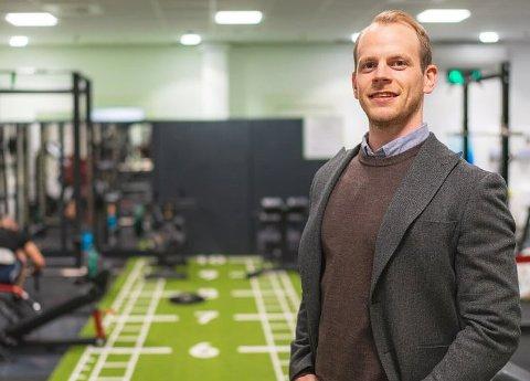 PLANLEGGER FLERE SENTRE: Mats Ola Martinsen er daglig leder og eier av Feel24. Treningskjeden vil i løpet av noen måneder ha 13 sentre i Nord-Norge. Planen er å etablere enda flere. Foto: Arkiv