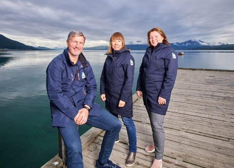 JOBBER MOT MOBBING: Jan Halvdan Lenning, Anita Lervoll og Janne Sannes er elev-, lærling- og mobbeombud i Troms og Finnmark.