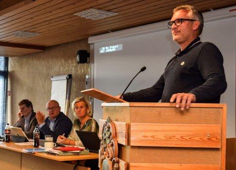 MIDLERTIDIG: Konstituert leder i Land barnevern Espen Lilleberg. (Arkivbilde)