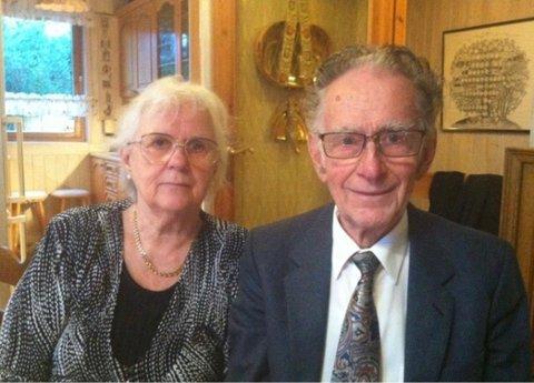 LANGT LIV SAMMEN: I sommer skulle de hatt 60 års bryllupsdag og Øystein skulle fylt 90 år.