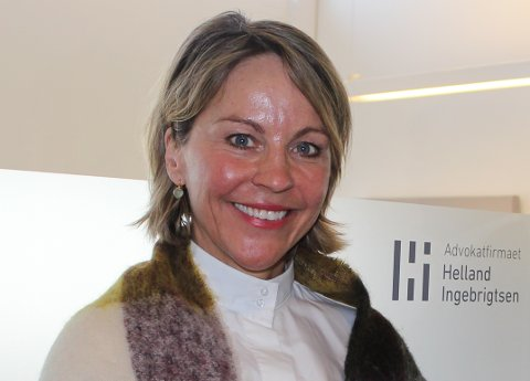 TIDLIGERE PENDLER: Etter mange år som pendler til Oslo, begynte Line Rasmussen Petersen hos Advokatfirmaet Helland Ingebrigtsen i Ski høsten 2015.