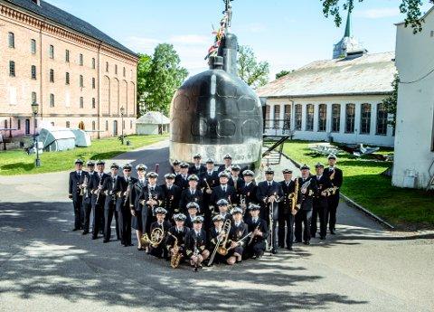 Marinemusikken, opprettet i 1820 i Stavern, nå med tilhold i Horten - regionens eneste profesjonelle musikkensemble