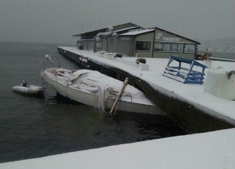 Slik ble båten funnet onsdag