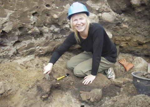 Kommer: Marie Ødegaard er arkeolog for kulturhistorisk museum i Oslo.Arkivfoto