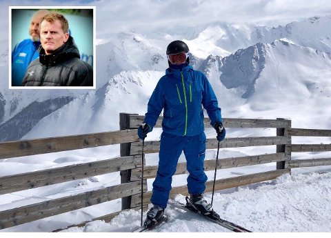 I ØSTERRIKE: Eirik Furu i den østerrikske alpelandsbyen Ischgl.