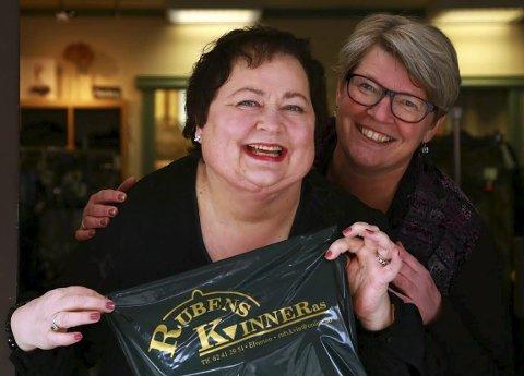 DELER: Anne Løndalen (til høyre) eier nå halvparten av Rubens Kvinner, mens Kari Halstenshoff eier den andre halvparten.