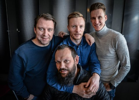 SAMBA: Yngve Sandbuløkken har tatt over Nybergsund og nå gjester han podkasten.
