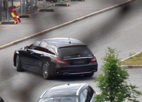 SPANERE: Spanere fra Kripos fulgte den danske 52-åringen i en svart Mercedes fra Danmark, gjennom Sverige og over grensa til Norge.