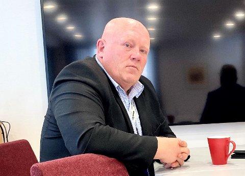 LYSER UT: Rektor Peer Jacob Svenkerud skal sjøl sitte i innstillingsutvalget for de tre nye åremålstillingene for prorektorene i HINN.