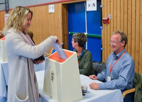 RESULTATER: Her får du oversikten over stemmetallene i de ulike valgkretsene i Ringerike og Hole.