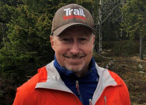 SYKLING: Destinasjon Gausta har engasjert Ulf Olofsson fra Trail Solution til å lede prosjektet.