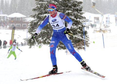 FJERDEPLASS: Sofie Bergan Bjaadal avsluttet en god sesong med å bli nummer fire i norgescupfinalen.