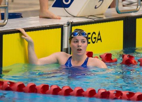 Litt bak pers, men Millie French var storfornøyd med sin første individuelle NM medalje.