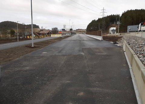 ÅPNER: Fylkesveg 505 Skjæveland-Foss-Eikeland var opprinnelig planlagt som første etappe av Tverrforbindelsen mellom riksvei 44 Skjæveland og E39 Bråstein, men arbeidet med disse planene stoppet opp høsten 2019.