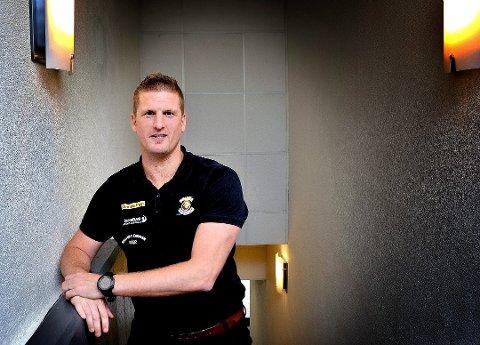 Daniel Björnberg, daglig leder i Sparta. (Foto: Jarl M. Andersen)